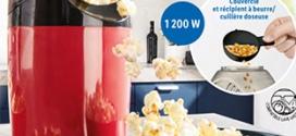 Bon plan Lidl : Machine à pop-corn SilverCrest pas chère
