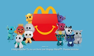 Jouet Minions McDo : 12 peluches Ty à collectionner