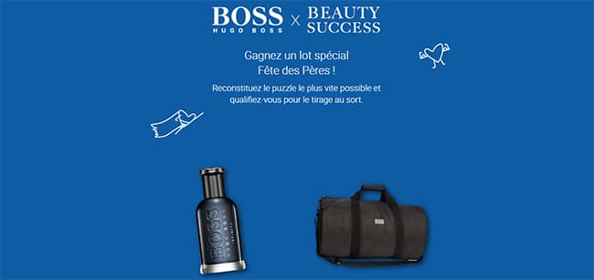 Remportez un sac de sport + un parfum Bottled Infinite