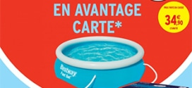 Intermarché : Piscine Bestway à 24,90€ (via remise fidélité)