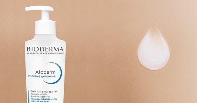 Tester gratuitement le gel crème Atoderm Intensive de Bioderma