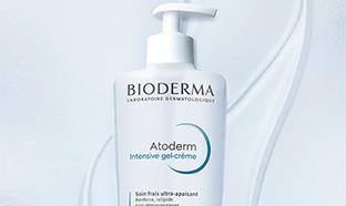 Test Sampleo : soins Atoderm gel-crème Intensive Bioderma gratuits