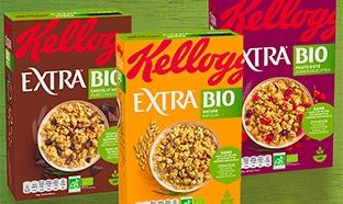 Test Sampleo : céréales Extra Bio Kellogg's gratuites