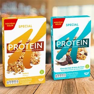 Test Kellogg's : 600 packs de céréales Spécial K Protein gratuits