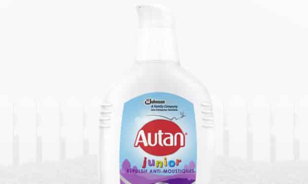 test gratuit gel anti-moustiques Autan Junior