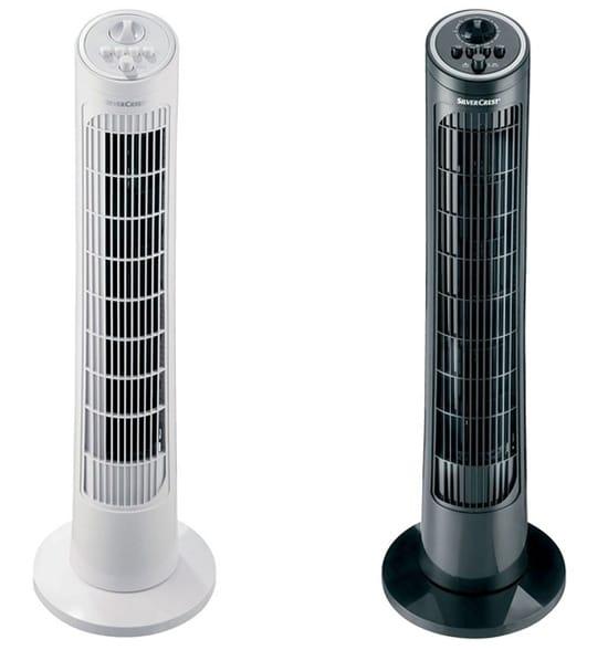 Bon plan ventilateur colonne SilverCrest pas cher