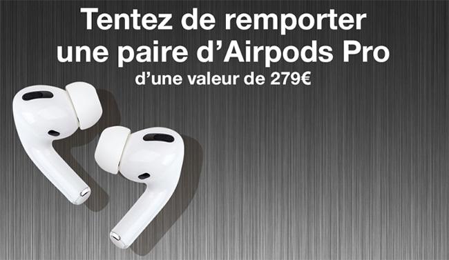 Tentez de remporter les AirPods Pro au jeu Ouest-France