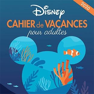 Amazon : Cahiers de vacances Disney pour adulte pas chers