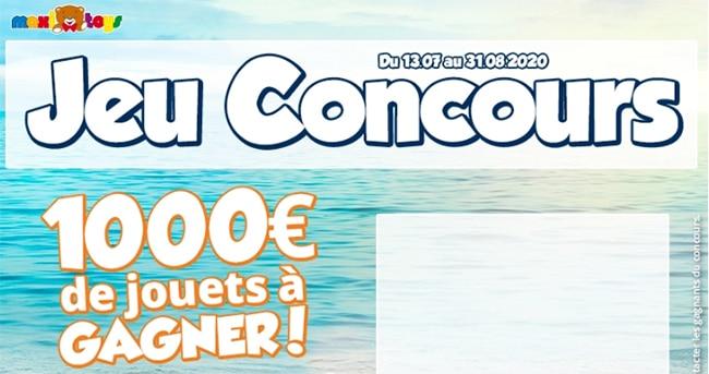 Tentez de remporter l'une des 10 cartes cadeau Maxi Toys de 100€