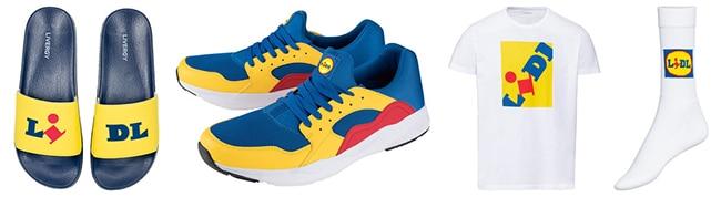 collection vêtement et chaussures Lidl