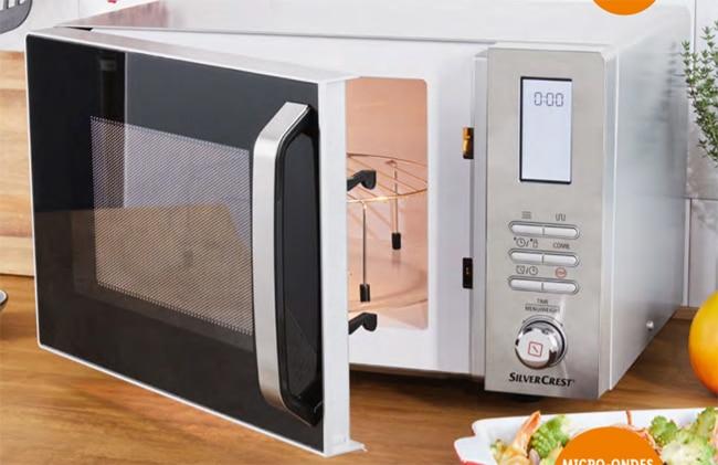 Four à micro-ondes multifonction SilverCrest à petit prix chez Lidl
