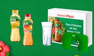 Instants Plaisir Box dégustation Coca Cola : coffret Fuzetea