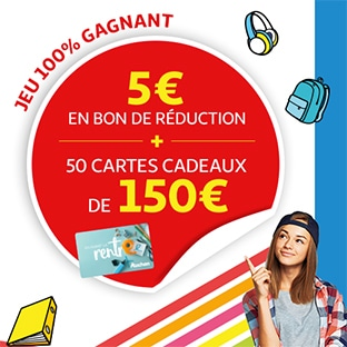 Jeu Auchan.fr Rentrée des classes