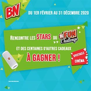 Jeu BN Fun Challenge : Rencontre des stars et gagne des cadeaux