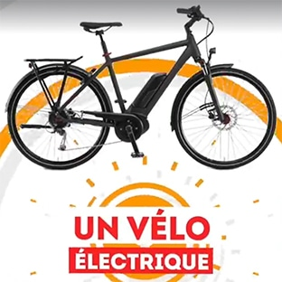 Grand Jeu Daunat à code : 92 vélos électriques à gagner