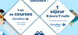 Jeu Parents : séjour et carets cadeaux Carrefour à gagner