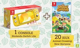 Jeu Journal de Mickey : Nintendo Switch et jeux Animal Crossing