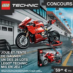 Jeu Journal de Mickey : 25 lots LEGO Technic à gagner
