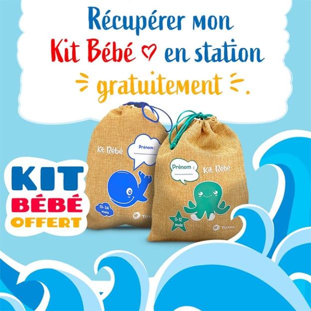 Total kit bébé 2021 offert : Cadeaux gratuits