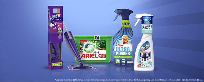 Tentez de remporter votre lot de produits nettoyant avec Envie de Plus