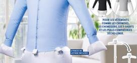 Lidl : Mannequin de repassage automatiquement pas cher
