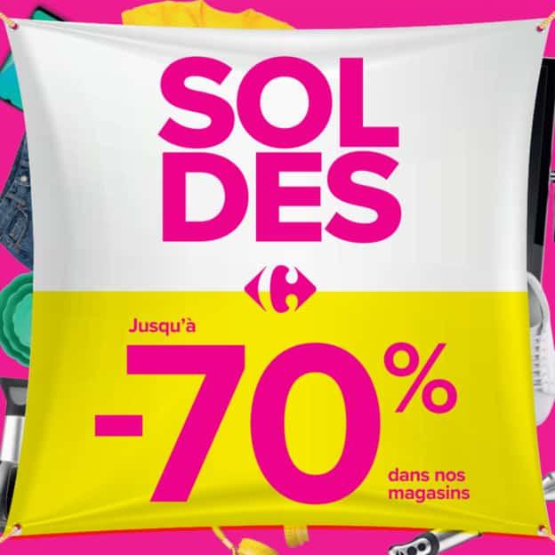 Magasins Carrefour : Catalogue Soldes été 2021