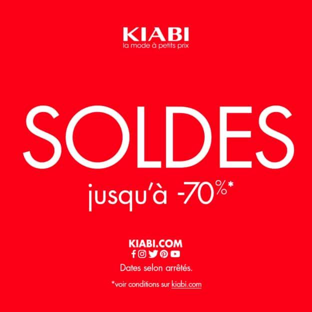 Soldes Kiabi : Jusqu'à -70% + 10% de réduction supplémentaire