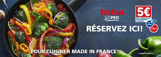 Réservez vos casseroles, poêles et woks Tefal sur op-tefal.carrefour.fr