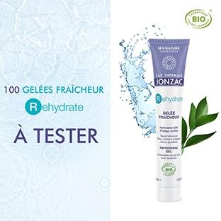Test Eau Thermale Jonzac : Soins Gelée Fraîcheur gratuits