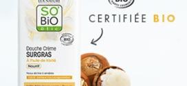 Test SO'BiO étic : Douche Crème huile de Karité gratuits