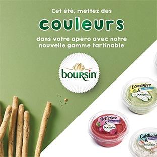 Test TRND : Les tartinables Boursin gratuits
