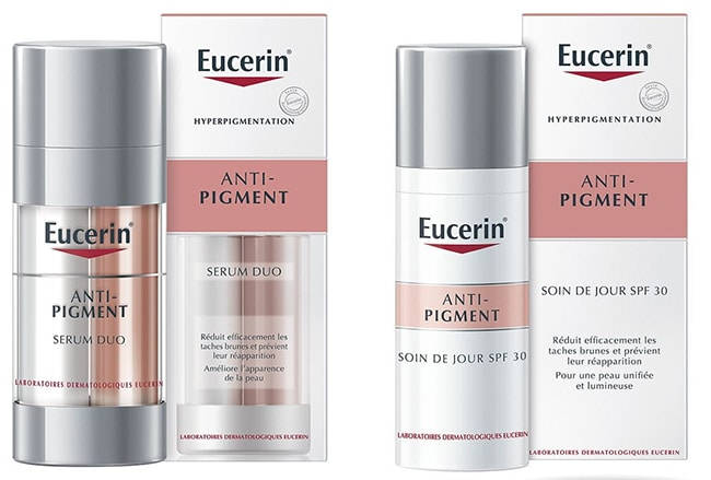 testez gratuitement le duo Anti-Pigment d'Eucerin
