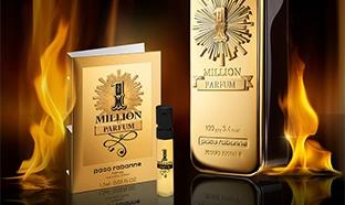 Échantillon gratuit Paco Rabanne de 1 Million Parfum