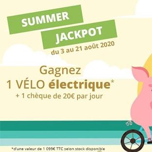 Jeu Cartouche Vide : Vélo électrique et 20 chèques de 20€