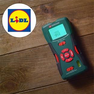 Lidl : Détecteur 5 en 1 avec laser Parkside pas cher à 19,99€