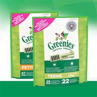 Greenies : 4'500 paquets gratuits de bâtonnets pour chiens