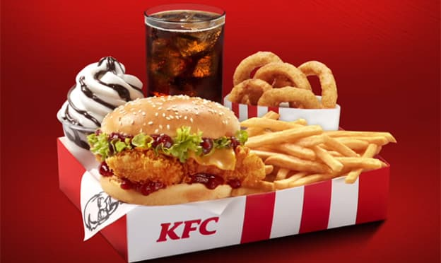 KFC : Méga Box en édition limitée (5€ les 5 produits)