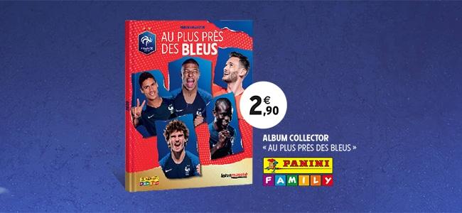 Album collector Au plus près des bleus