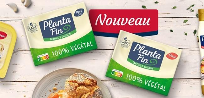 Testez gratuitement le beurre 100% végétal Planta Fin avec Marmiton