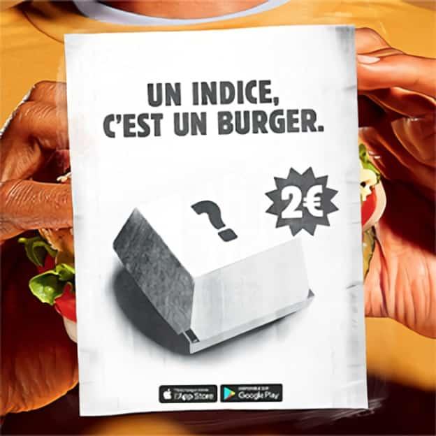 Burger King : Burger mystère et glace à 2€ avec l'appli