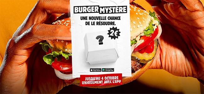Mystère Burger King 2021