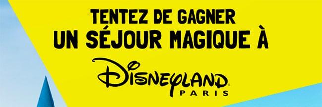 cadeaux séjour Disneyland Paris avec les fromages Bel