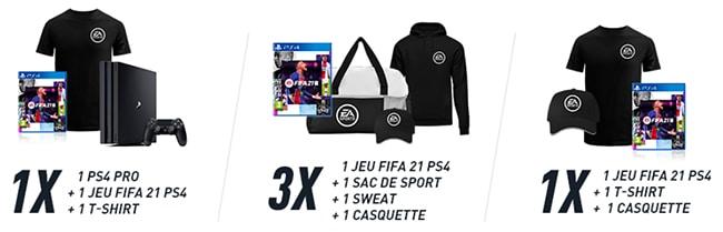 Tentez de remporter des cadeaux FIFA21 avec Carrefour