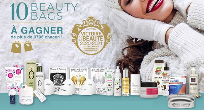 Beauty Bag Victoires de la Beauté à gagner