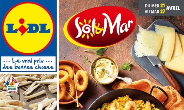 Catalogue Lidl «Sol & Mar» du 21 au 27 avril 2021