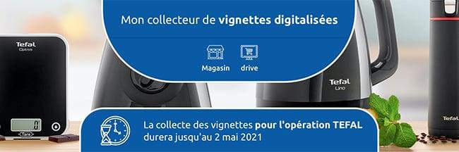 collecteur digitalisé sur Carrefour.fr/tefal