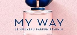 Échantillons gratuits Armani : Parfum My Way + fond de teint