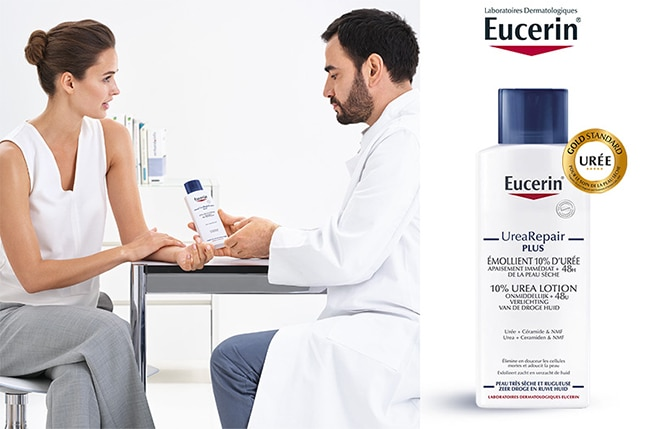 Tester gratuitement l'un des 3000 Emollient UreaRepair d'Eucerin