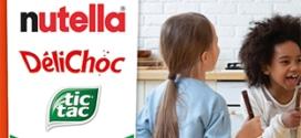 Générateur de sourires : produits Ferrero acheté = activité offerte