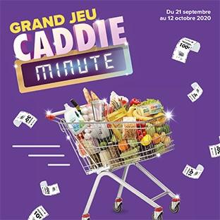 Caddie Minute sur Carrefour.fr : Grand jeu à code